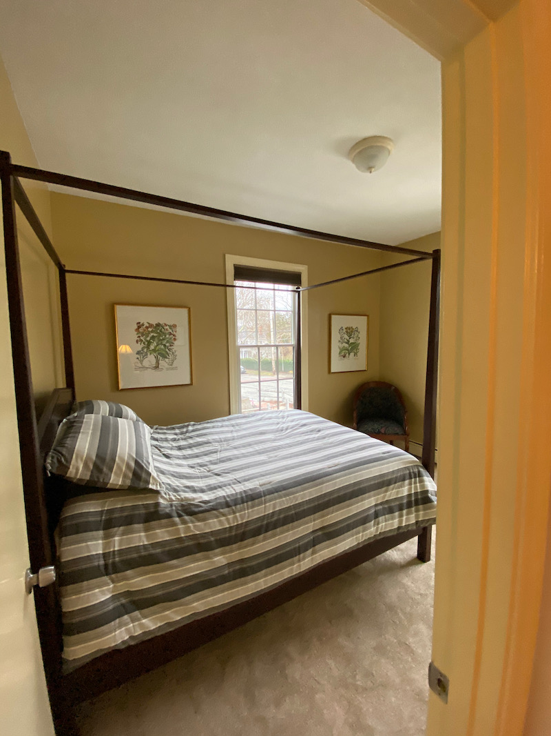 the flat at the brown Jug main bedroom | Queen bed